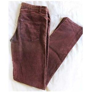 [ LUX ] Skinny Corduroy Pants